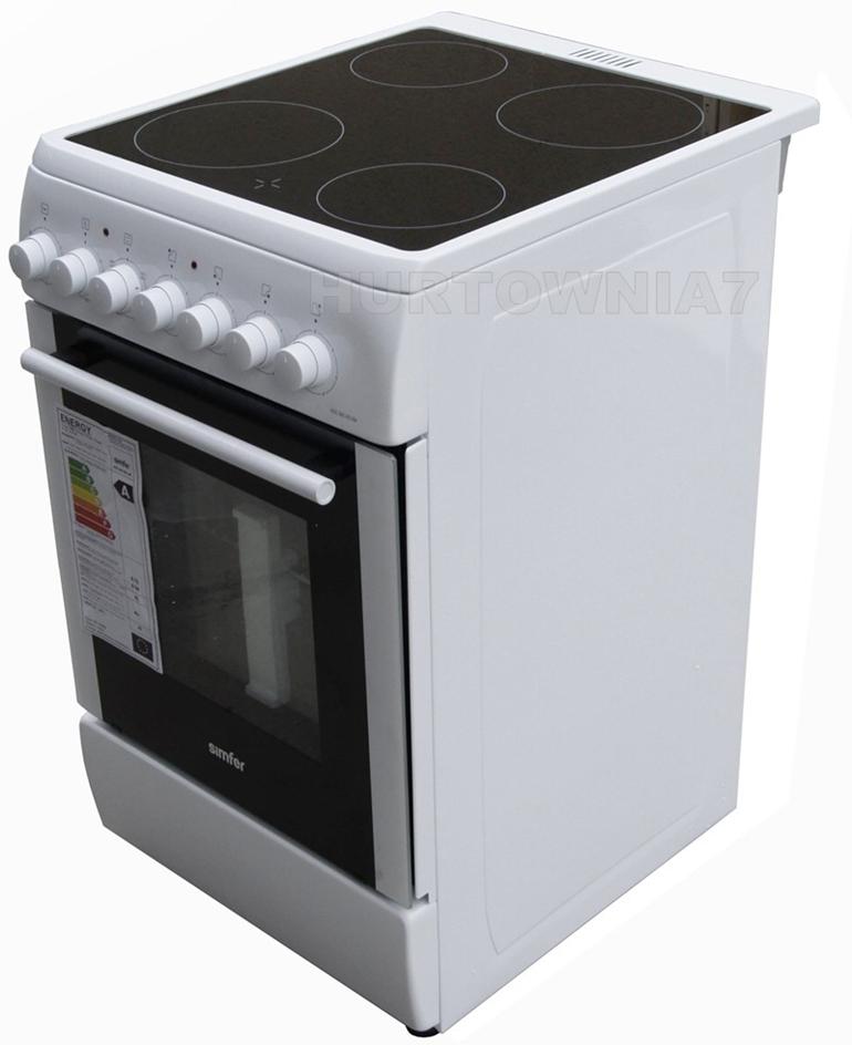 kuchnia ceramiczna Kuchnia elektryczna z płytą ceramiczną Płyta ceramiczna j   -> Kuchnia Gazowo Elektryczna Na Co Zwrócić Uwage